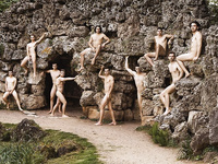 The Naked British Rowing Team for calendar 2018