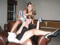 Drunk girls at parties