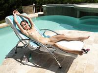 Lesbian sex near pool - Gina Gerson and Lilu Moon - full album HQ
