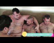 Hot Bears gay orgy