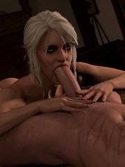 Gerald and Ciri Sex