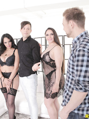 reality Kings - Marta Lacroft, Katrina Moreno Foursome