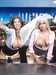 Brazzers Sex Pics Alexis Fawx, Luna Star, Johnny Sins HQ