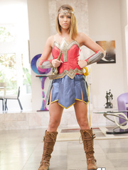 Halloween Cosplay Wonder Woman Adriana Chechik Porn Pics 2018 HQ