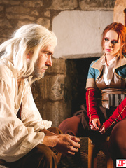 The Bewitcher: A DP XXX Parody The Witcher Triss And Gerald Sex Cosplay - Danny D, Ella Hughes - HQ