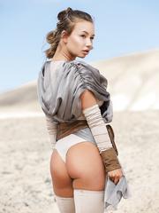 Star Wars A XXX Parody Rey Cosplay Sex - Taylor Sands - HQ