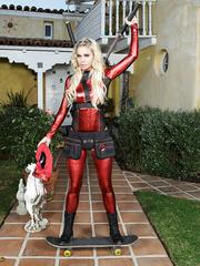 Lady Deadpool A XXX Parody - Jessa Rhodes - HQ