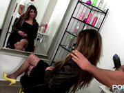 Porn XN - Whore gets fist fucked insane by a male fist - HD