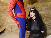 Cosplay Babes - Horny Catwoman fucked hard by Spiderman - Harmony Reigns - HD