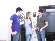 Sell Your GF - Skinny Bitch Cuckold - Adel HD [720p]